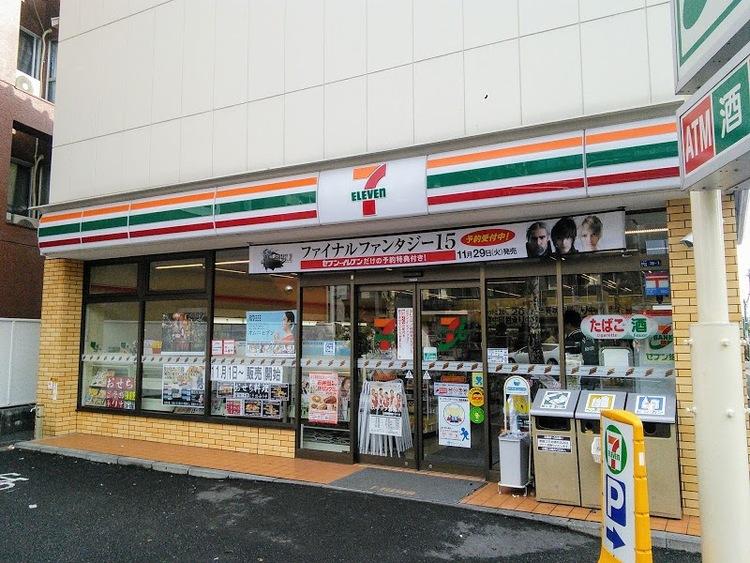 セブン-イレブン田園調布郵便局前店まで450m。24時間営業しているコンビニは、深夜のお買い物にも最適です。