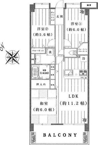 ビクトリアヒルズ横濱サウスB棟の画像