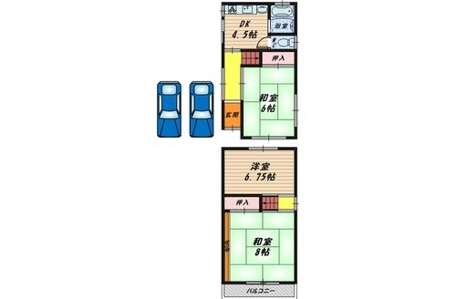 堺市中区福田 中古戸建の物件画像