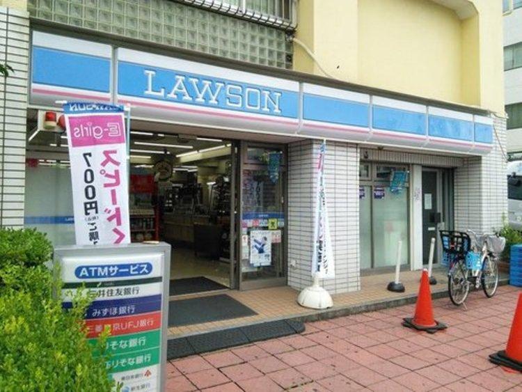 ローソン南馬込五丁目店まで80m 24時間営業しているコンビニは、深夜のお買い物にも最適です。