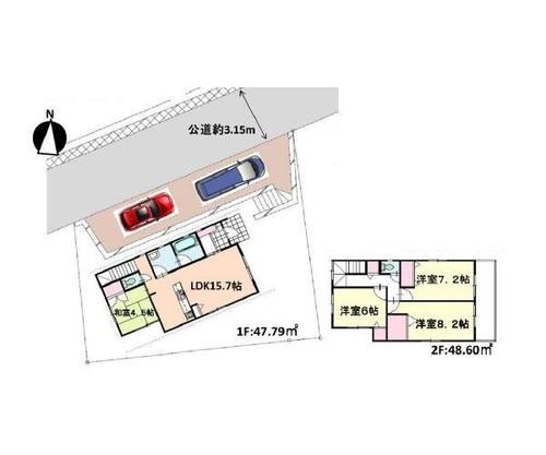 横浜市戸塚区小雀町戸建の物件画像