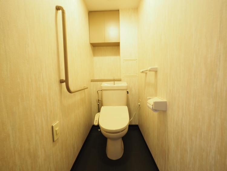 トイレを快適にする、温水洗浄便座