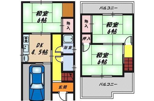 堺市中区深井北町 中古戸建の物件画像