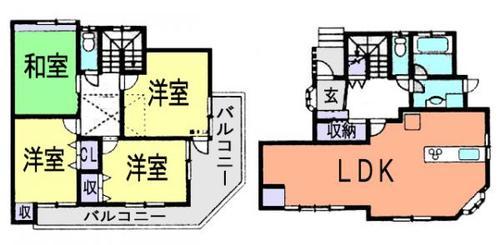朝霞市宮戸2丁目 中古戸建の画像