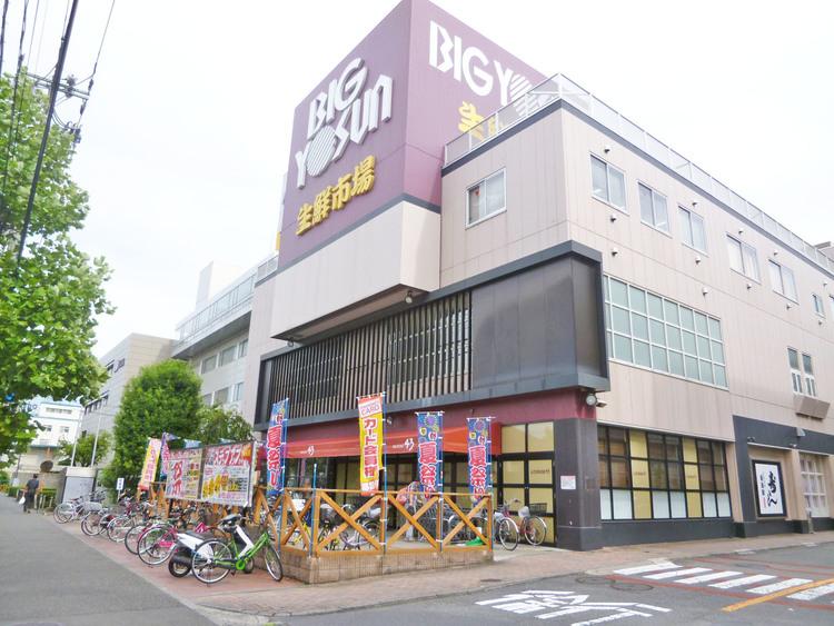 ビッグヨーサン 綱島樽町店 距離850m