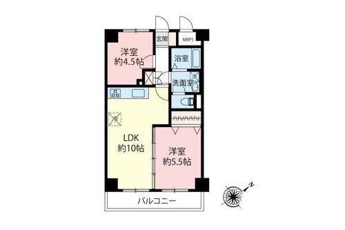 久米川マンションの画像