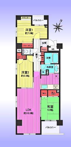 インターハイム東川口プレディエンスの物件画像