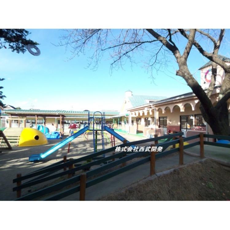 久米川幼稚園(約1100m)