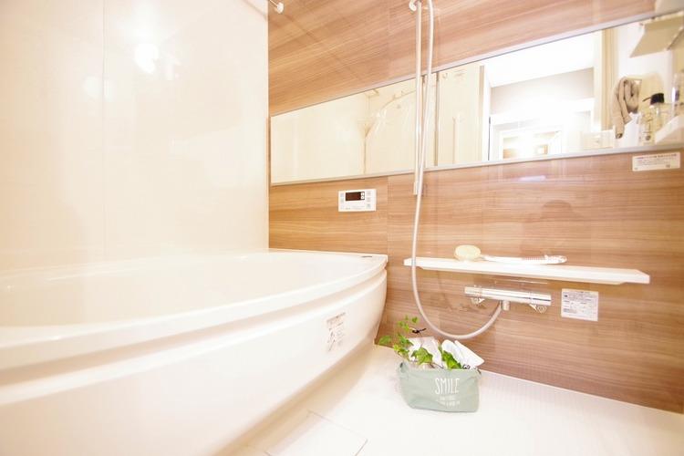 癒しの浴室で、ゆったりバスタイムを♪