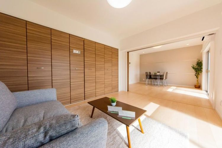 「洋室」約6.0帖 引き戸で仕切られ、個室やリビングと一体化させるなど使い分けができます。
