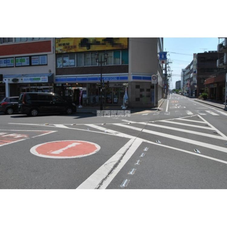 ローソン新狭山北口店(約450m)