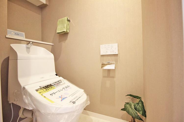 リフォーム済のトイレです