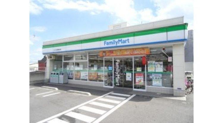 ファミリーマートサンズ大田西馬込店まで452m 何かと便利な24時間営業のコンビニあります。
