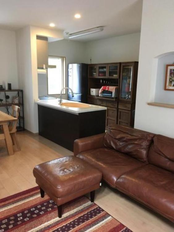 LDKは18.3帖!家具を置いてもゆとりがあり自然と家族が集まる居心地の良い空間です!