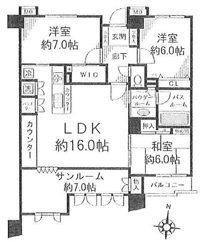 グランシティ戸塚3の物件画像