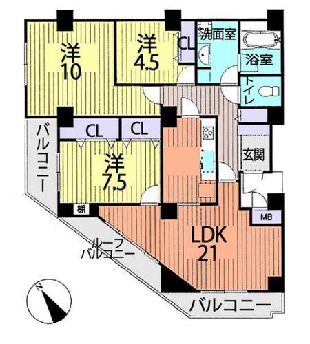 ライオンズマンション松戸相模台の画像