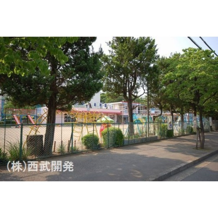 第二新座幼稚園(約610m)