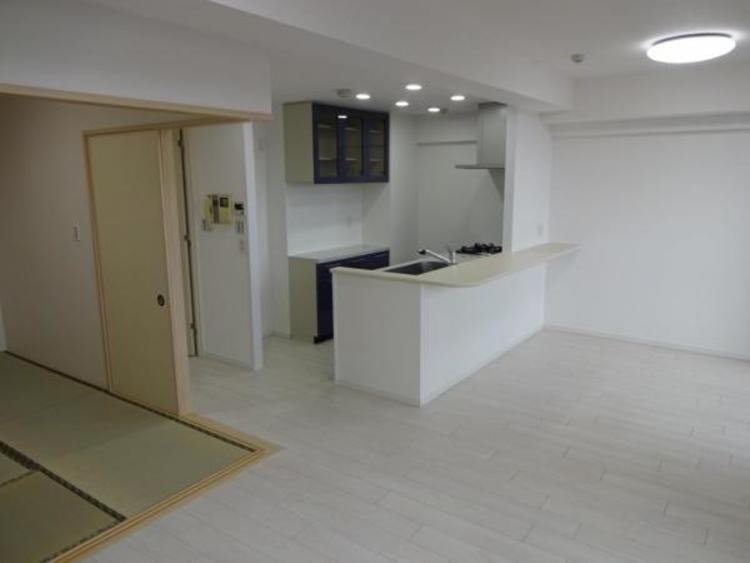和室を開放すると約21帖の開放的な空間になります!