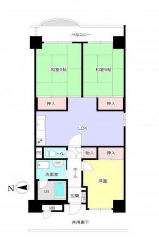 京成サンコーポ八千代台 10階の物件画像