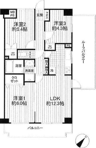 クレストコート東戸塚2の物件画像