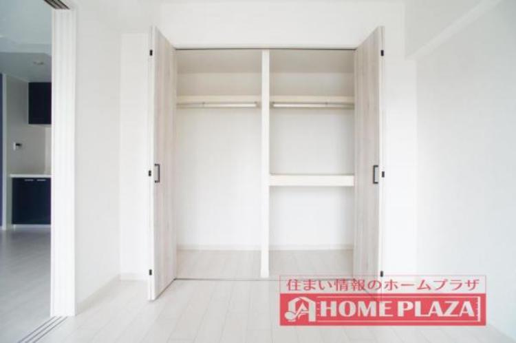 収納が豊富な物件なので、お部屋を広くお使い頂くことができます