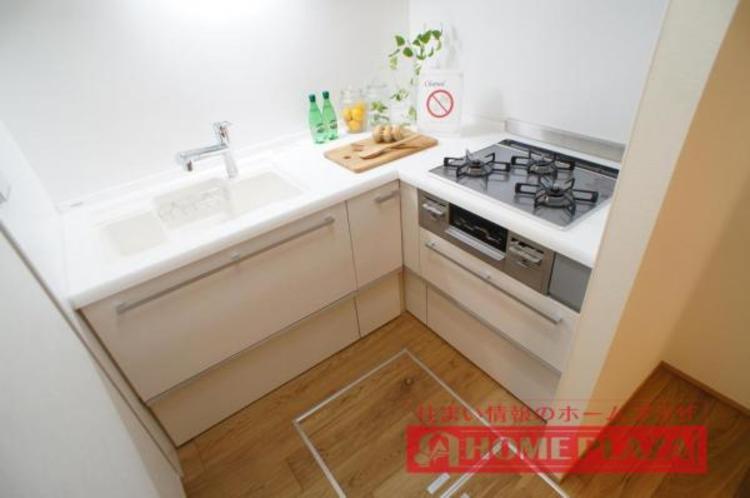 L字型キッチンでお料理の効率がアップです!