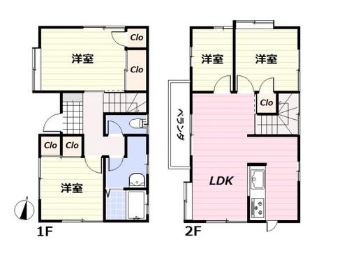 足立区神明3丁目〜再生住宅〜の画像