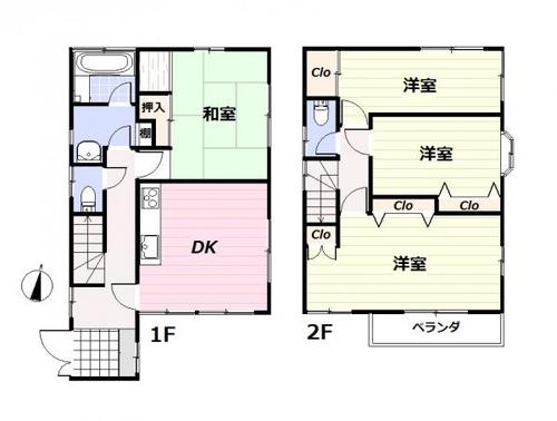 足立区西新井3丁目〜再生住宅〜の画像