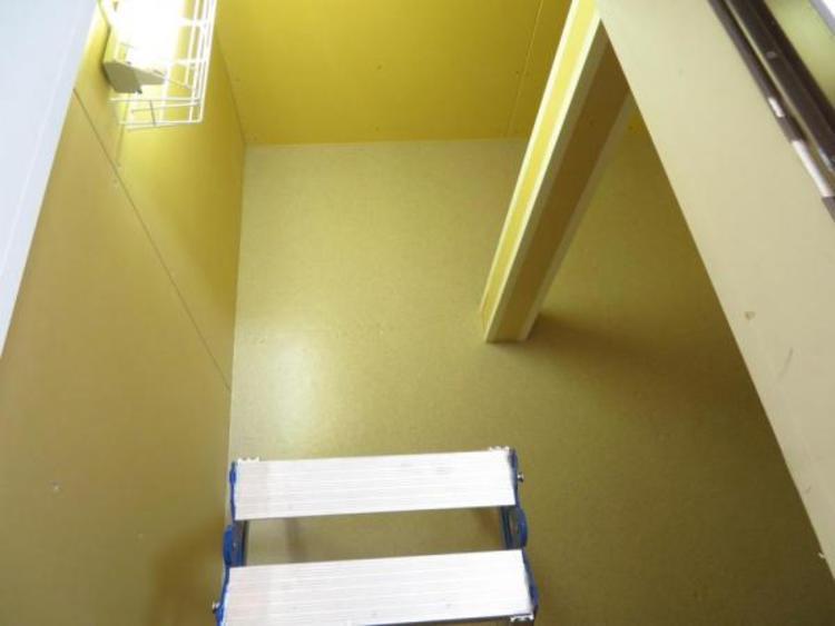 大容量の床下収納