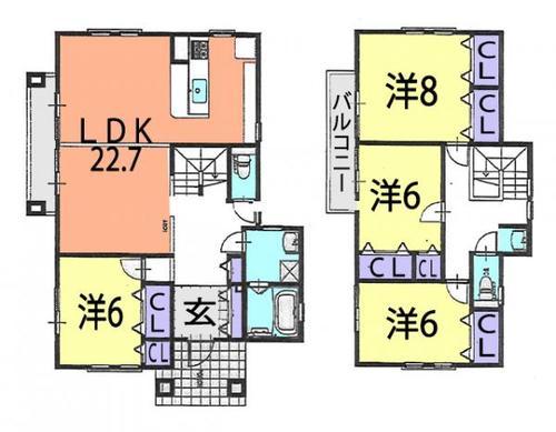 加須市上崎 中古住宅の物件画像