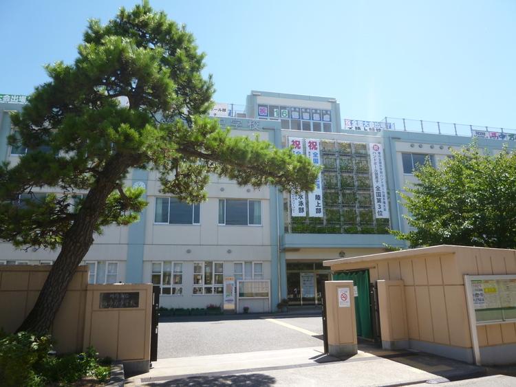 川崎市立西中原中学校 距離1200m