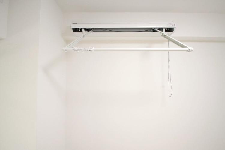 収納できる便利な室内物干し竿