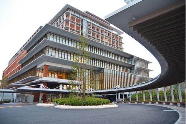 昭和大学江東豊洲病院まで1600m。近くに病院があると、万が一の事態にも備えられます。