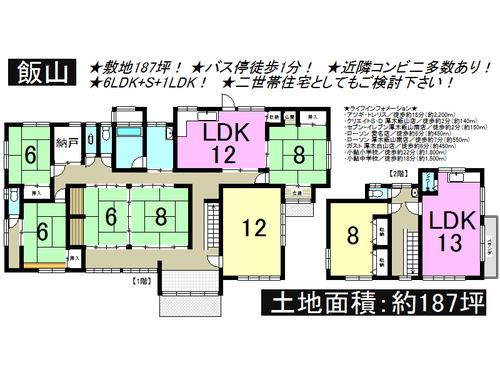 厚木市 飯山 一戸建て 8SLDKの物件画像