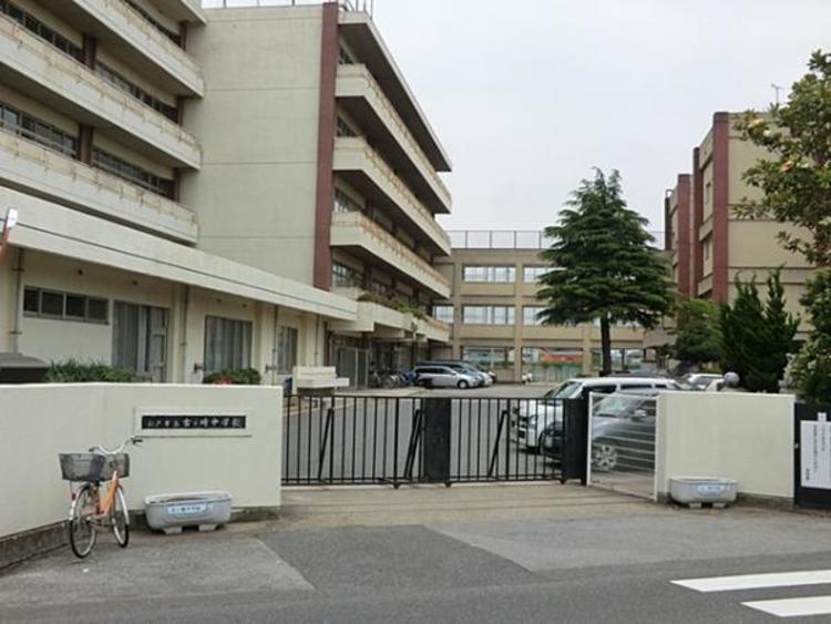 松戸市立古ケ崎中学校 1800m
