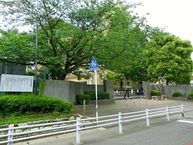 松戸市立河原塚小学校100m