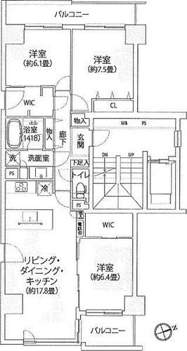 ニューシティ東戸塚パークヒルズM棟の物件画像