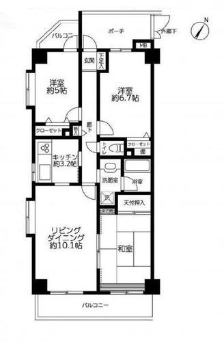レックスハイツ八千代台 3階の画像