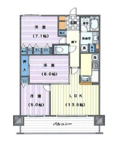 クリオ川越弐番館の物件画像
