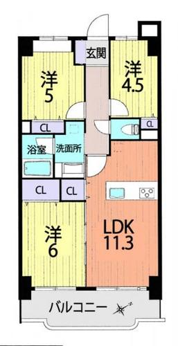 ライオンズマンション越谷南の物件画像