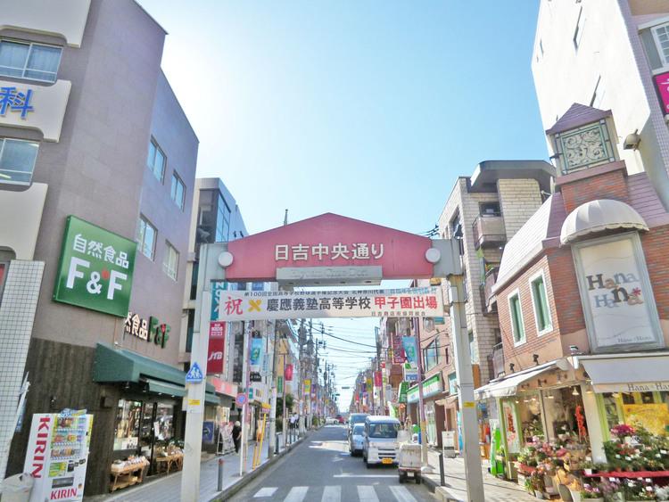 日吉 商店街 距離350m