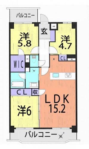 藤和天王台ハイタウンの物件画像