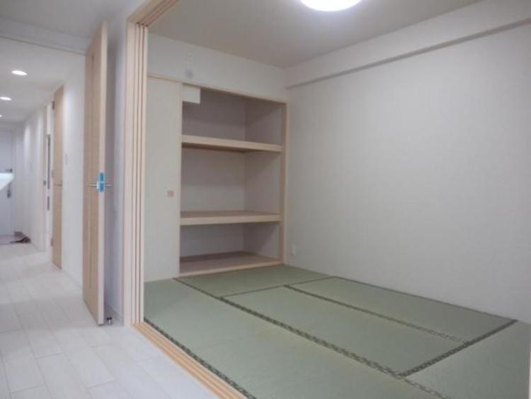 ●すぐ横になれる和室はほっと一息付けるくつろぎの空間ですね!