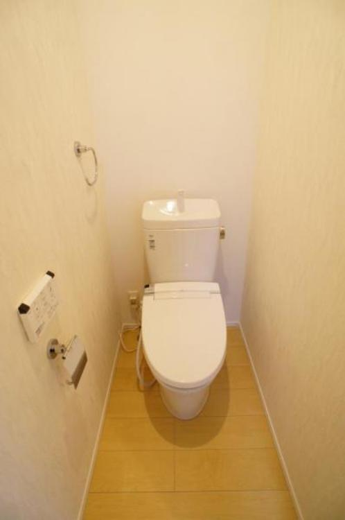洗浄付きでトイレも快適です!