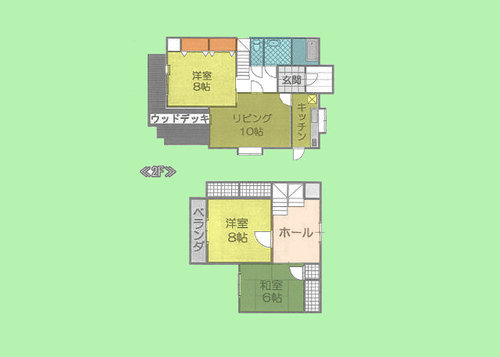 神奈川県横浜市青葉区市ケ尾町478-14の物件の物件画像