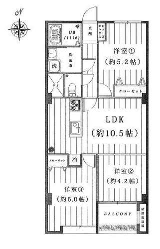 陽輪台・横浜の物件画像