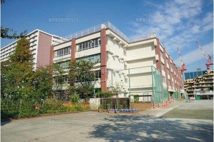 江東区立東雲小学校まで780m 国際社会にたくましく生きる児童の育成をめざします。