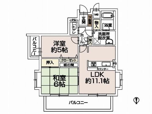 コスモ北戸田の物件画像