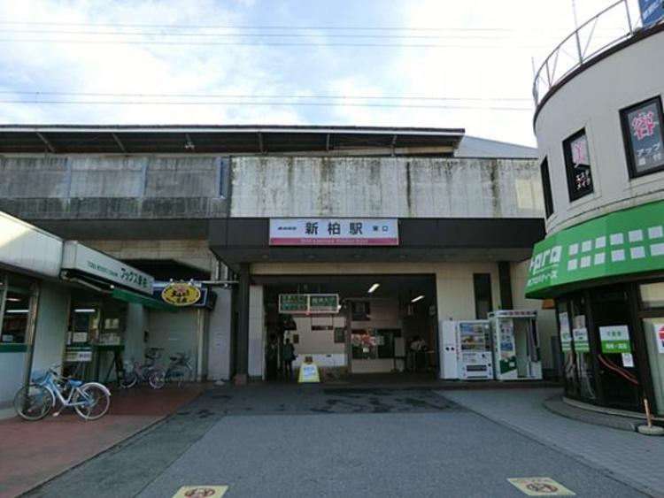 東武鉄道 新柏駅320m