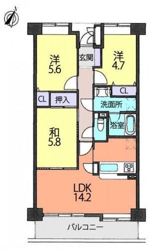 ファミール上尾弐番館の物件画像